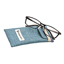 SOOLALA Mens Quality Al-Mg Reading Glasses Business Optical Eyeglass Frame