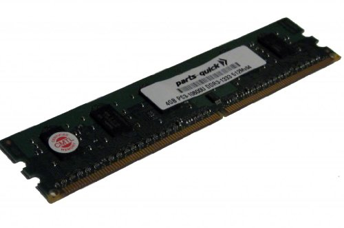 4GB Memory Upgrade for HP Elite 8000 SFF, Convt Minitower DDR3 PC3-10600 1333MHz DIMM Non-ECC Desktop RAM (PARTS-QUICK BRAND) -  4GB-DDR3-PC3-10600U-D-HP-14850