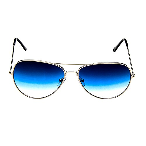 AMOFINY Fashion Glasses Mens Womens Retro Fashion Mirrored Lens Polarized Sunglasses Eye