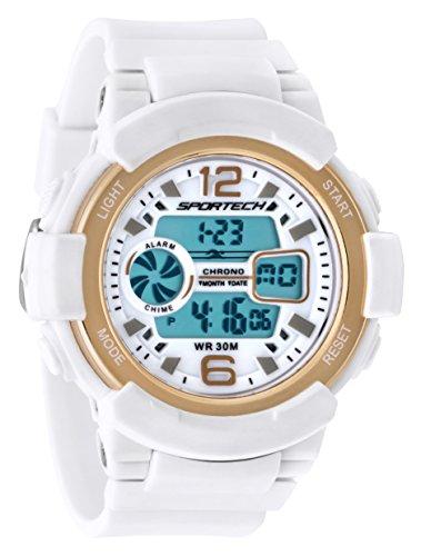 White Gold Unisex Watch - 4