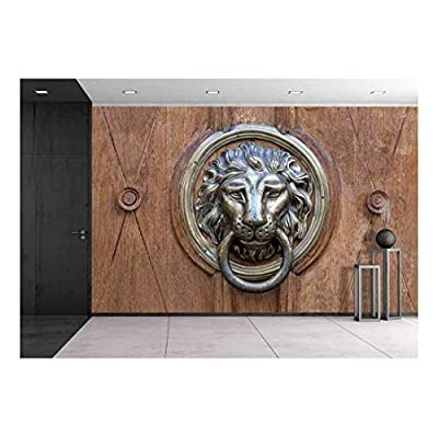 That You Will Love, Pretty Visual, Old Door Handle in The Form of a Metal Lion Background