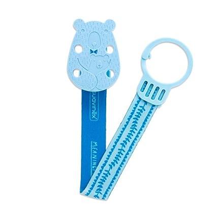 Suavinex Chupete Oso con cinta azul
