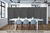 Stand Steady ZipPanel Room Divider | Single