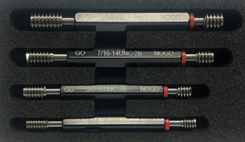 7 Piece H6 Metric Thread Plug GAGE Set Go-NoGo X Tolerance Gauge