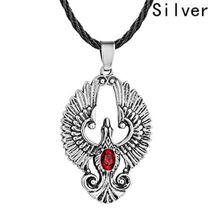 Amazon com: Autumn Water 1pc Phoenix Bird Pendant Necklace