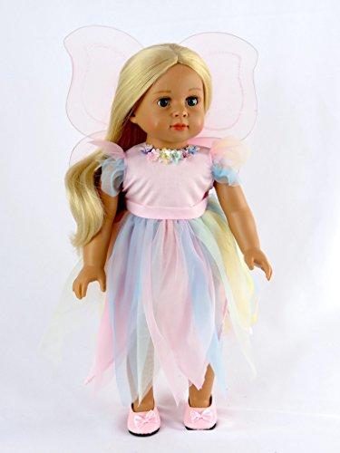 Tinker Bell's Garden Party Fairy Dress -18
