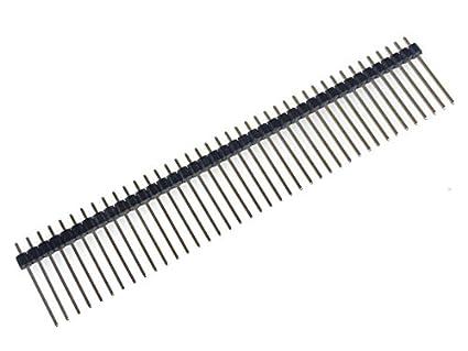 40 Pin 2 54mm 20mm Long Header Pins Male Amazon Co Uk Electronics