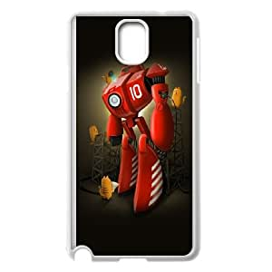 Samsung Galaxy Note 3 Cell Phone Case White Robot SUX_019435