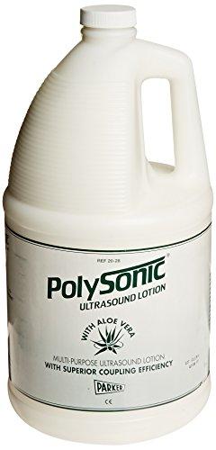 Parker W60695AL Polysonic Ultrasound Lotion Aloe Vera, 1 Gallon