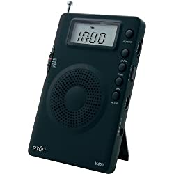 Grundig Mini GM400 Super Compact AM/FM Shortwave Radio with Digital Display - Black (NGM400B)