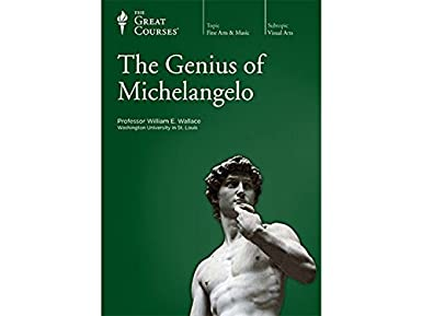the genius of michelangelo great courses 3 volume set