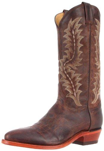 Tony Lama Boots Mens 6978 Boot Chocolate Saigets Worn Goat