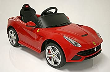 children ride on electric car ferrari f12 with license kids battery ride on wheel motorized dynamics