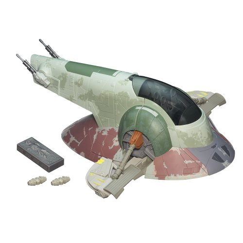 - Star Wars The Empire Strikes Back Slave I Boba Fett's Spaceship Vehicle [Amazon Exclusive]