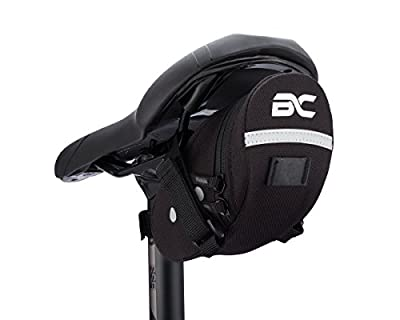 Bicycle Saddle Bag by BC Bicycle Company - Small Under Seat Pack for Road and MTB Bikes - Holds All Your Essential Cycling Accessories