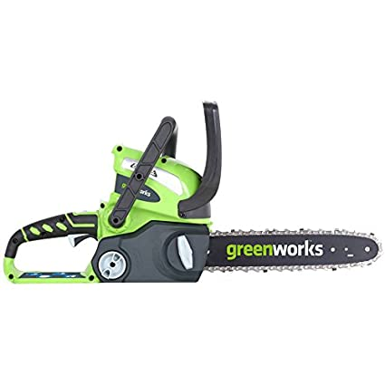 Automatic Bar With 24V Lithium Ion Charger And Battery Chainsaw Cordless 12 in