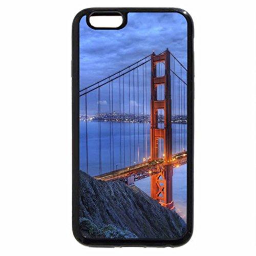 iPhone 6S / iPhone 6 Case (Black) Golden Gate Bridge