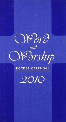 2010 Pocket Calendar - Word and Worship Pocket 2010 Calendar