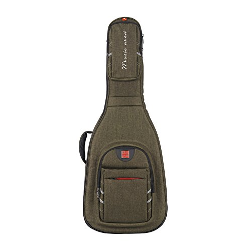 Music Area WIND30 Acoustic Guitar Gig Bag Waterproof with 30mm cushion protection - Green