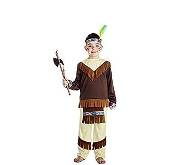 Disfraz Indio Apache 1-2-: Amazon.es: Juguetes y juegos