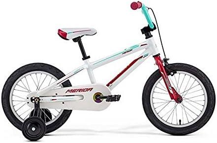 Merida bicicleta infantil de Matt J16 White (mag./ Mint Green ...