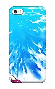 Fashion Rfefvbj377HnEnE Case Cover For Iphone 5/5s(anime Girl Resting On A Cliff)