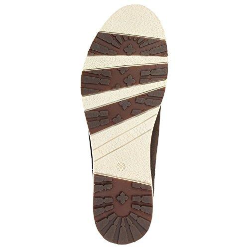 Napapijri0575400 - Botas plisadas Mujer Marrón - marrón oscuro