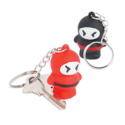 Ninja Key Chains - 12 pc