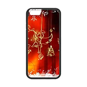 Case Cover For Apple Iphone 5C Christmas Phone Back Case Personalized Art Print Design Hard Shell Protection FG027224