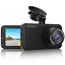 AKASO C320 Dash Cam FHD 1080P Dashboard Camera 3 Inch LCD 170 Degree Wide Angle Dash Camera Car Camera with G-Sensor, WDR, Loop Recording