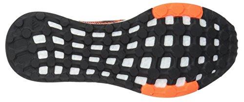 Adidas Originals Mens Pureboost Dpr Scarpa Da Corsa Collegiale Blu / Blu Scuro / Arancione Solare