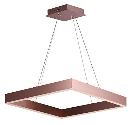 (ET2 E24296-SC, Metallika LED Pendant, 1 Light, 64.8 Total Watts, LED, Satin)