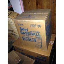 1986 Topps Baseball Card Set 3 Rack Pack Box FACTORY SEALED CASE Rak 6 Wax Box