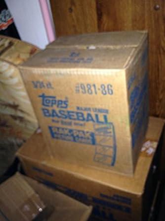1986 Topps Baseball Card Set 3 Rack Pack Box Factory Sealed