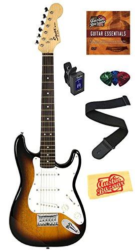 squier-by-fender-mini-strat-electric-guitar-bundle-with-clip-on-tuner-strap-picks-austin-bazaar-inst
