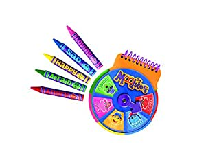 Moodsters Notebook & Crayons Set