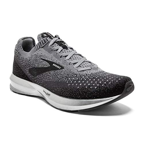 Brooks Men's Levitate 2 Running Shoes (12, Black/Grey)