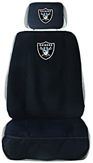 NFL Unisex Seat Cover with Head Rest Cover