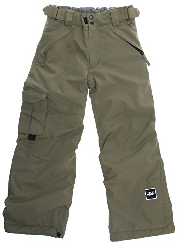 House Snowboard Pants (Ride Charger Snowboard Pants Fatigue Olive Twill Youth Sz S)