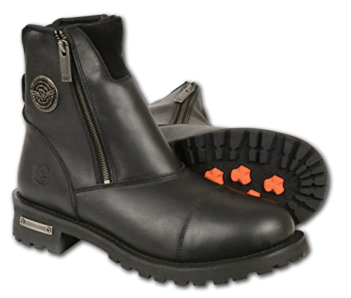 Classic Motorcycle Boots - 6