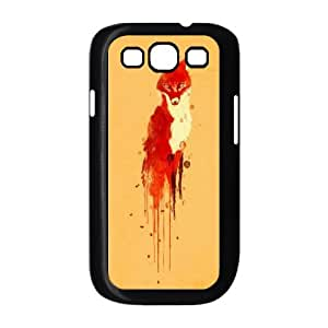 High quality Cute fox series protective case cover For Samsung Galaxy S3 y-fcb-u3072