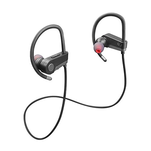 SODIAL Bluetooth Sports Earphones Stereo In-Ear Headphones F