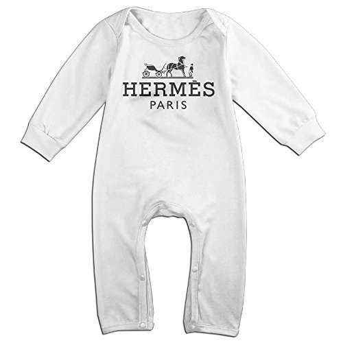Price comparison product image MJML5 Toddler / Infant Unisex Hermes Hipster Romper Playsuit Outfits 6 M
