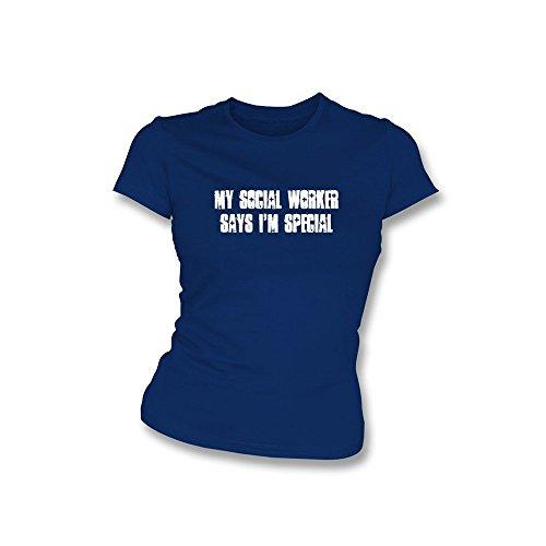 PunkFootball Wenn es war nicht für Vögel und Booze... The Latics Kapuzen Sweatshirt X-Large, Farbe Royal Blau