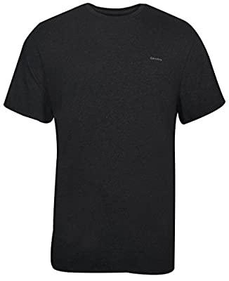 Calvin Klein Men's Short Sleeve Interlock Crew T-Shirt,