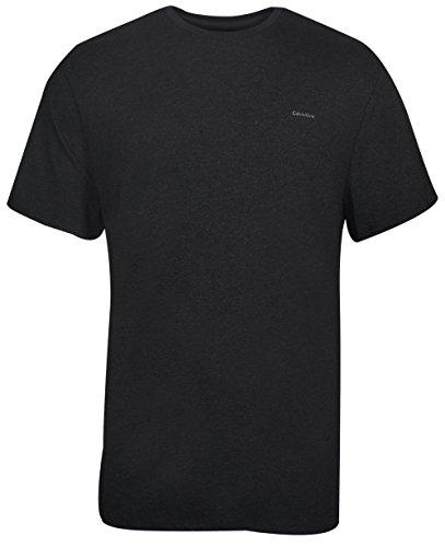 Calvin Klein Mens Short Sleeve Interlock Crew T-Shirt
