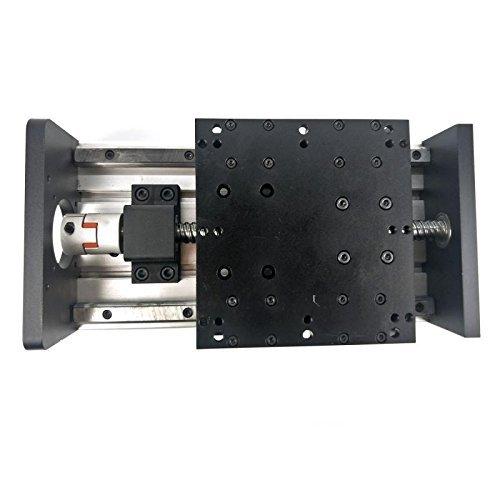 テンハイTEN-HIGH リニアガイドレールモジュール ボールねじスライドテーブル SFU2010式 高負荷ヘビーデューティー 有効ストローク120mm(GX150 ダブルスライダーシリーズ)B075T9SX94120mmSFU2010