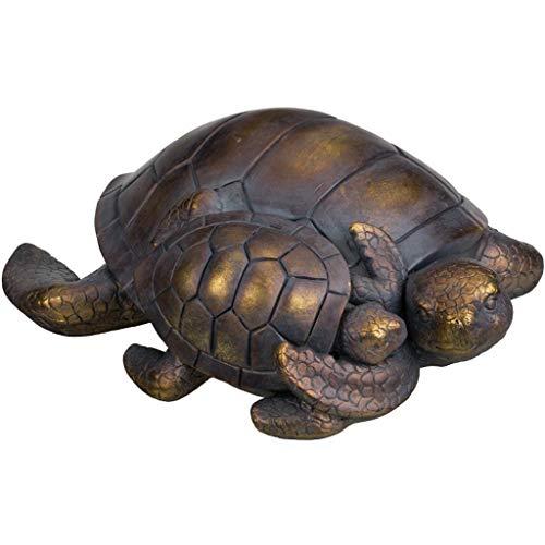 (Regal Mama/Baby Sea Turtle Garden Statue)