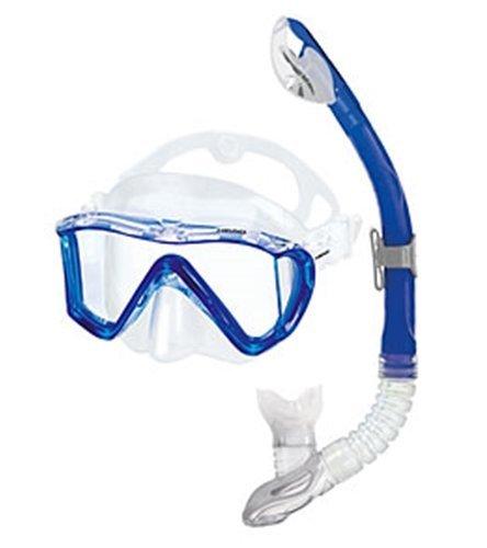 Head Combo Manta Swim Mask and Snorkel Set-Blue / Clear [並行輸入品]   B06XFW1W8S