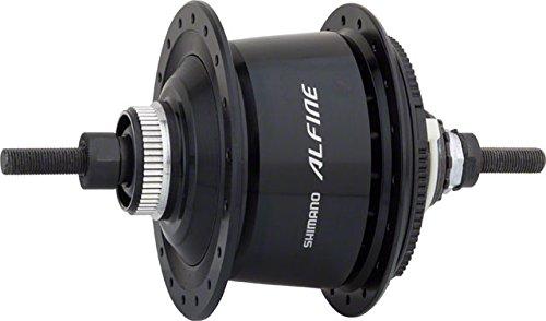 SHIMANO Alfine 8-Speed Internal Geared Bicycle Disc Brake Hub - SG-S7001-8 (Black - 36H 135X187MM)